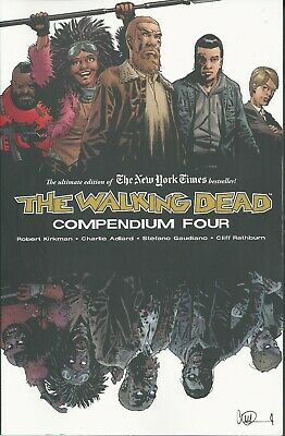 THE WALKING DEAD COMPENDIUM FOUR (Robert Kirkman, 2019) - USED, read ONCE