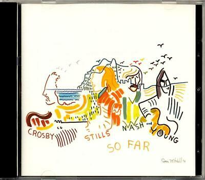 Crosby, Stills, Nash & Young - So Far (CD, Sep-2008, Atlantic) LIKE NEW!