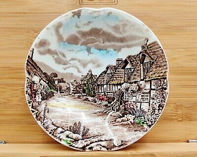 Small Collectable Dish-Johnson Bros-Olde English Countryside (Hand Engraving)