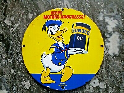 Emailschild Donald Duck Sunoco Oil, VK
