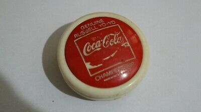 Coca cola yo yo Vintage Russell Championship  made in Phillipines Coke yoyo