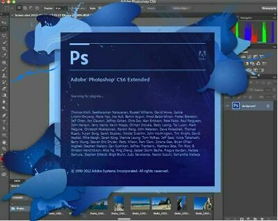 Photoshop CS6 for PC Photo Editing Software - Windows 10 8 7 Vista ENGLISH ONLY