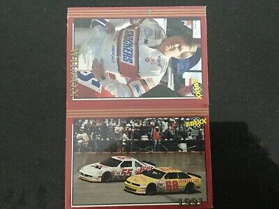 Nascar Trading Cards By Maxx In 1992 Featuring The 1991 Season Factory Sealed