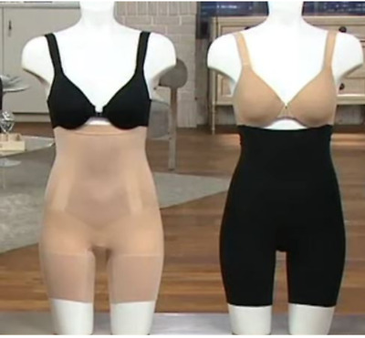 Spanx~OnCore High Waisted Mid-Thigh Shaping Short~A366407~#SS1915