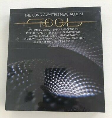 "NEW* TOOL ""Fear Inoculum"" Deluxe CD 2019 RCA Limited Edition Video Pack"