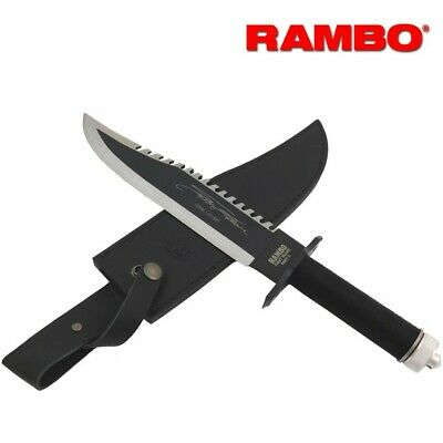 First Blood Stallone Rambo 2 II Knife Hollywood Deluxe Limited Signature Edition