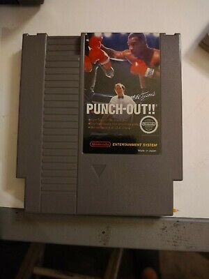 Mike Tyson's Punch-Out (Nintendo Entertainment System, 1987) NES Cleaned Tested