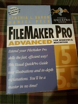 FileMaker Pro 5/5.5 Advanced for Windows and Macintosh Visual QuickPro Guide