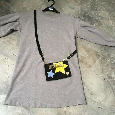 Moschino Jumper Dress Grey Age 10 Worn Once Look