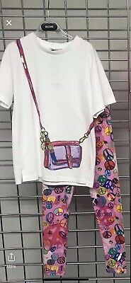 "Moschino Top And """"leggings Set Age 14  Bnwt Summer 2019 Rrp £177"