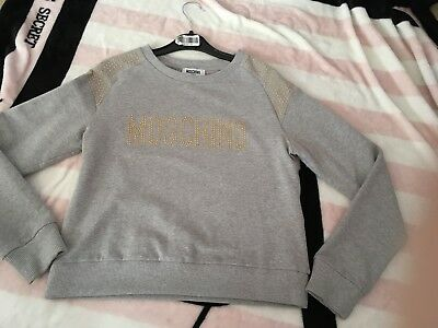 Moschino Jumper Age 12 Worn Once Look