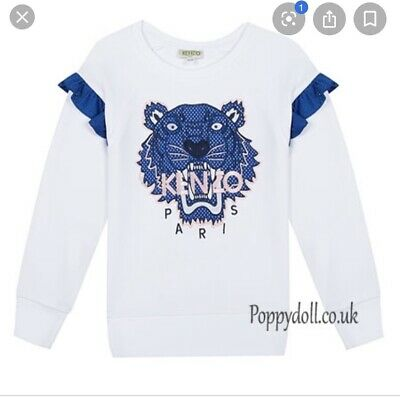 Kenzo - Girls Jumper - Age 10 - RRP £125 This Seasons Sold Out Look!