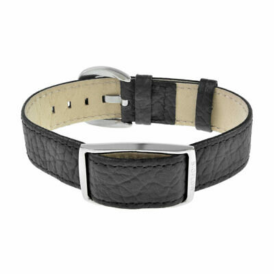 Bnib Bioflow Executive Black Leather  Strap