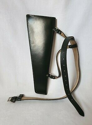 Vintage Green Leather Rawlings Bros, Leamington Spa Archery Quiver Arrow Case