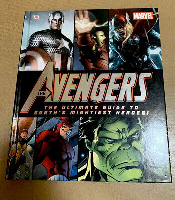 Marvel Comics The Avengers Ultimate Guide to Earth's Mightiest Heroes Book 2012.