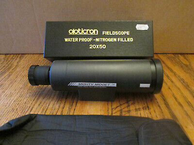 Opticron Mighty Midget telescope 20x5, with case and box