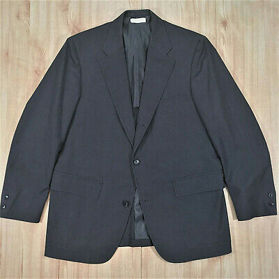 Vintage Brooks Brothers Gray Wash Wear 3/2 Patch Pocket Blazer 43 R Trad Ivy USA