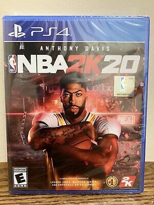 NBA 2K20 (Sony Playstation 4, 2019) PS4 Brand New