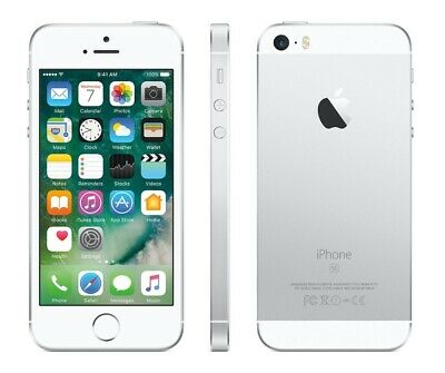 New(Other) Silver Verizon Gsm Unlocked 32Gb Apple Iphone Se Smart Phone  Fx62 B