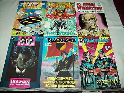 60 Comic Book Lot V for Vendetta SciFi Jonny Quest Arrow Hellbazer Cerebus B2