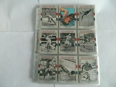 Usa Olympic Cards Hall Of Fame - Complete Set(90 Cards) 1991