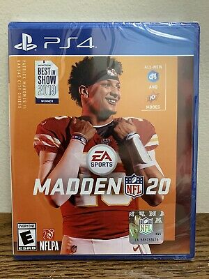 Madden NFL 20 (Sony PlayStation 4, 2019) PS4 Brand New