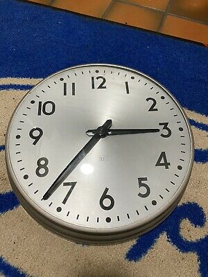 "Telephone Rentals slave Clock 12"" Not Gents PUL-SYN-ETIC or Synchronome"
