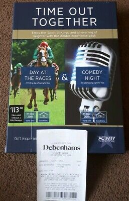 Time Out Together Experience Voucher For 2 People Day At The Races & Comedy Nigh