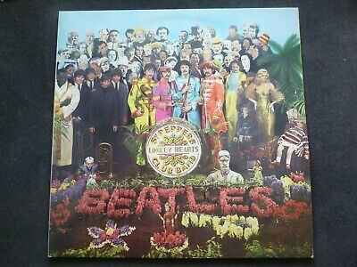 """The Beatles - Sgt Peppers Lonely Hearts Club Band 12"""" Vinyl LP"""