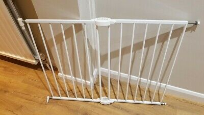 Lindam PRESSURE FIT EXTENSIONS WHITE 14CM Safety Stair Gate BN