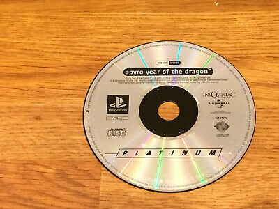 SPYRO: YEAR OF THE DRAGON ~ PAL PlayStation 1 ~ FULLY TESTED ~ DISC ONLY