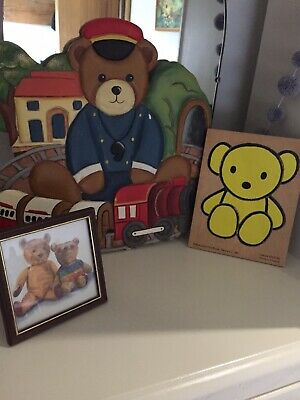Vintage Nursery Teddy Bear Items