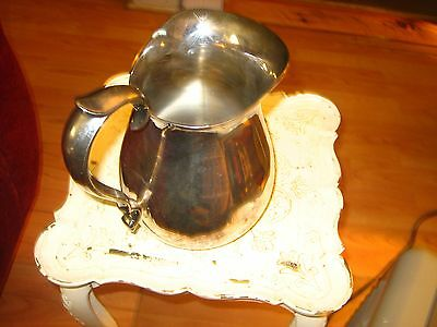 Solid, Heavy Reed & Barton Silver plate Pitcher / Jug