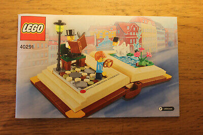 LEGO 40291 Creative Personalities INSTRUCTION MANUAL ONLY
