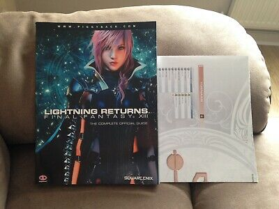 Lightning Returns Final Fantasy XIII - Complete Official Strategy Guide & Map