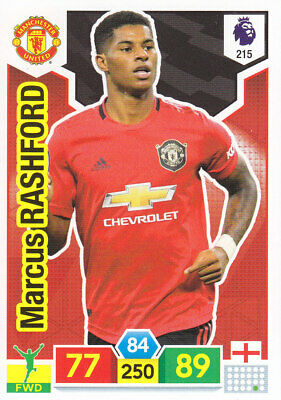 Panini Adrenalyn XL - Premier League 2019-20 - Marcus Rashford - Man Utd - # 215