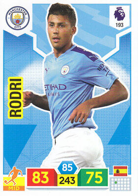 Panini Adrenalyn XL - Premier League 2019-20 - Rodri - Manchester City - # 193