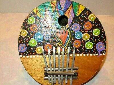 Coconut Gourd  7 tunable Note Surprise!FREE Gift w//Package! Kalimba Thumb Piano
