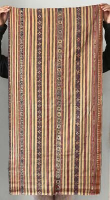 Antique Lampung textile, tapis from South Sumatra, Indonesia