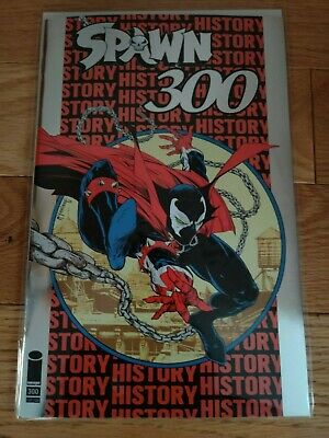 NYCC Exclusive SPAWN #300 SILVER FOIL Variant cover by TODD McFARLANE *LE 1500*