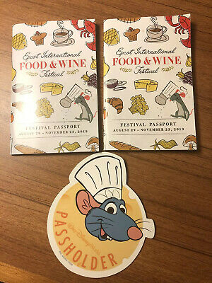 Walt Disney World Annual Passholder 2019 Chef Remy Magnet Food & Wine Festival