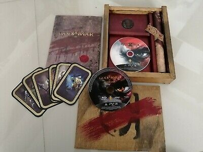 God of War III PS3 Press Kit -  Limited Wooden Collector's Edition