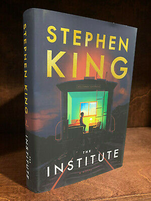 Stephen King THE INSTITUTE 1st Edition Hardcover 1st Printing 2019