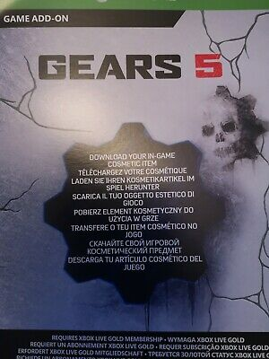Gears 5 Ice Kait Diaz Character Skin - DLC Code for Xbox One