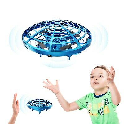Mini UFO Drones Quad Induction Levitation Hand Operated Helicopter Toys For Kids
