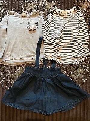 Baby Toddler Girls Age 12-18 Months Clothing Outfit Bundle Next Shorts Braces