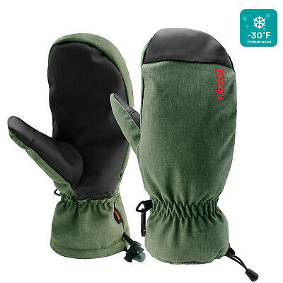 Waterproof Ski Gloves Winter Warm Snowboard Thermal Men Women Mittens Motorcycle