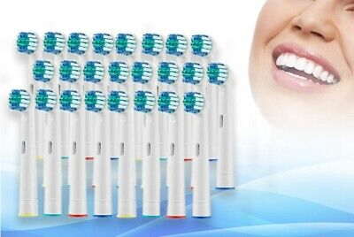 24 Electric Toothbrush Heads Compatible With Oral B Braun Toothbrush Head Models