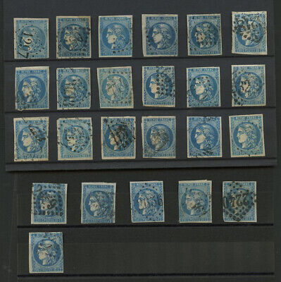 EMISSION BORDEAUX 20c LOT 24 TIMBRES