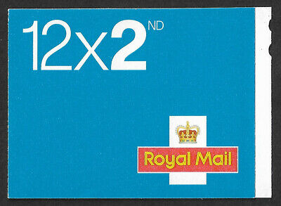 2015 12 x 2nd class stamp booklet MTIL M15L new tel.number FSC logo ME5c cyl W1
